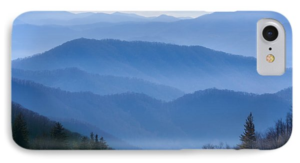 Smoky Mountains IPhone Case by Melinda Fawver