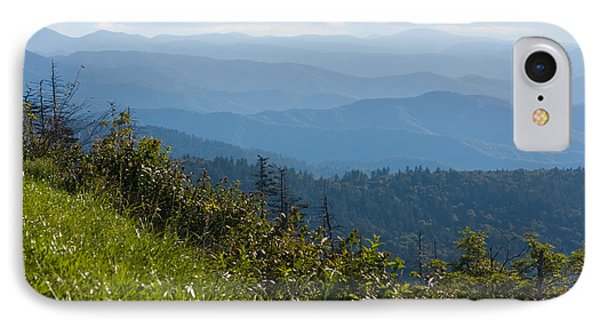 Smoky Mountains View IPhone Case by Melinda Fawver