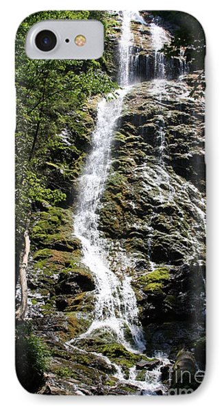 Smoky Mountains Waterfall IPhone Case by Jerry Bunger