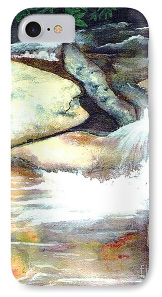 Smoky Mountains Waterfall IPhone Case by Patricia Griffin Brett