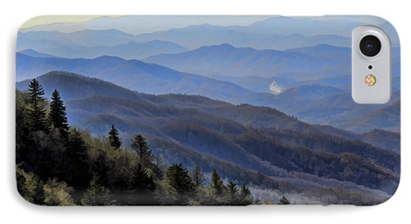 IPhone Case featuring the photograph Smoky Vista by Kenny Francis