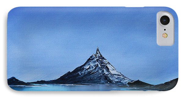 IPhone Case featuring the painting Smooth As Glass by Jennifer Muller
