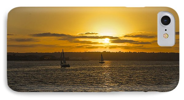 Smooth Sailing IPhone Case by Claudia Ellis