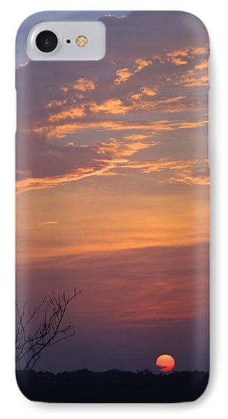 Smooth Sunset Phone Case by Leticia Latocki