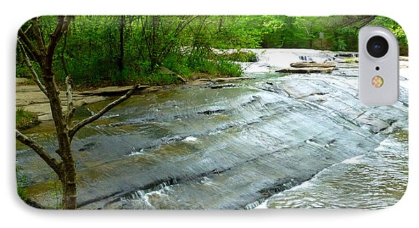 Smooth Waterfall IPhone Case by Pete Trenholm