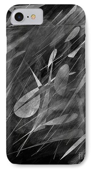 Smudges IPhone Case by John Krakora