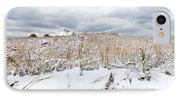 Smuggler's Beach Snow Cape Cod IPhone Case