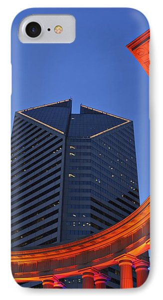 Smurfit-stone Building Behind  Wrigley Phone Case by Axiom Photographic