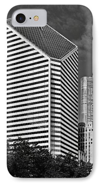 Smurfit-stone Chicago - Now Crain Communications Building Phone Case by Christine Till