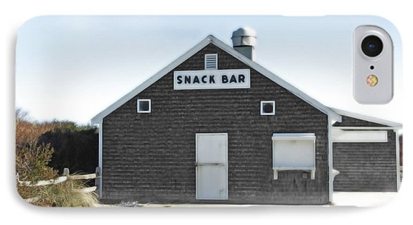 Snack Bar Off-season No. 2 Phone Case by Brooke T Ryan