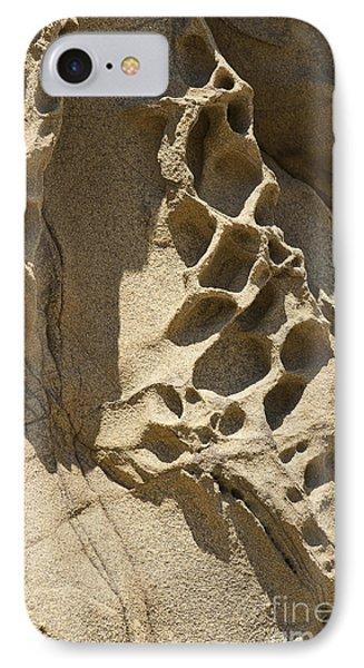 Snadstone Rock Formations In Big Sur Phone Case by Artist and Photographer Laura Wrede