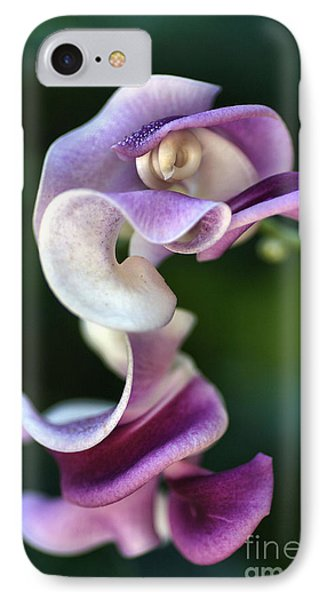 IPhone Case featuring the photograph Snail Flower by Joy Watson