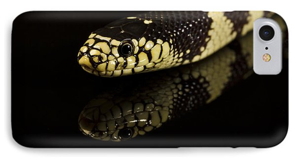 Snake IPhone Case by Gunnar Orn Arnason