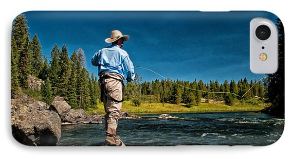 Snake River Cast Phone Case by Ron White