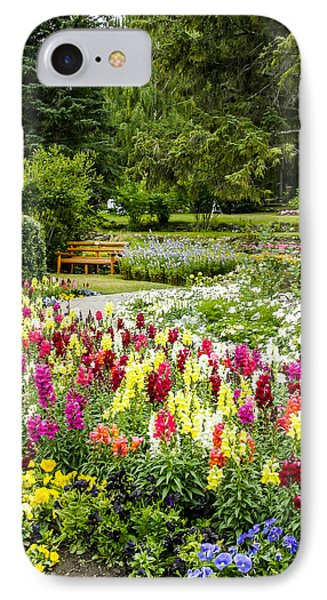 Snapdragon Garden IPhone Case by Margaret Buchanan
