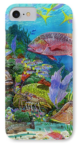 Snapper Reef Re0028 IPhone Case by Carey Chen