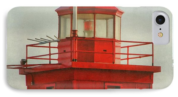 Snapshot Of Red IPhone Case by Michelle Calkins