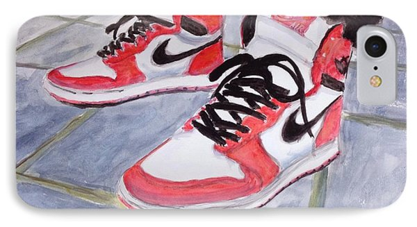 Sneakers IPhone Case by Stan Tenney
