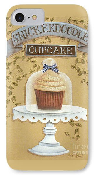 Snickerdoodle Cupcake Phone Case by Catherine Holman