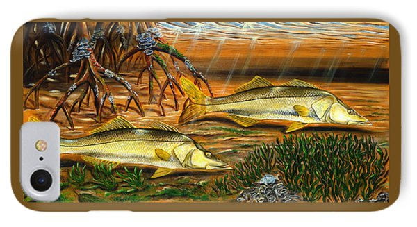 Snook In The Mangroves IPhone Case by Steve Ozment