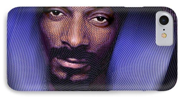 Snoop And Lyrics IPhone Case by Tony Rubino