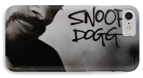 ' Snoop Dogg ' IPhone Case by Christian Chapman Art