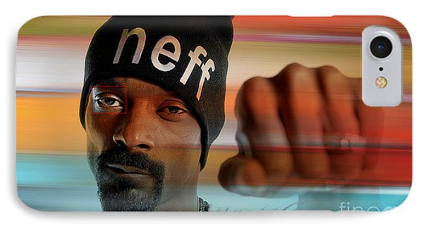 Snoop Lion IPhone Case by Marvin Blaine