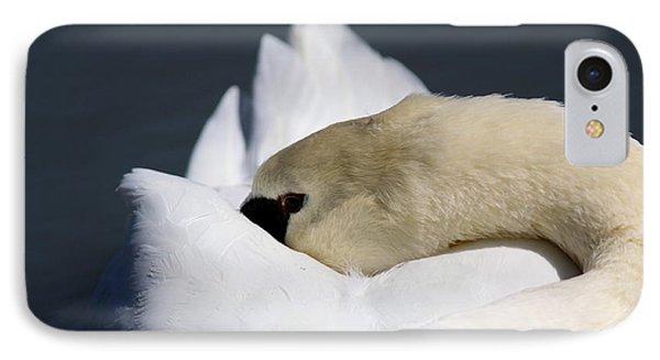 Snoozer - Swan Phone Case by Travis Truelove