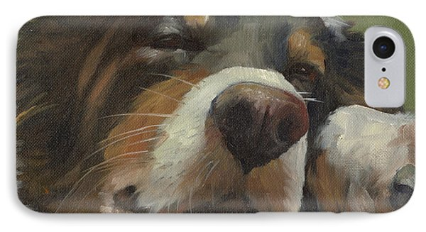 Snoozing IPhone Case by Alecia Underhill