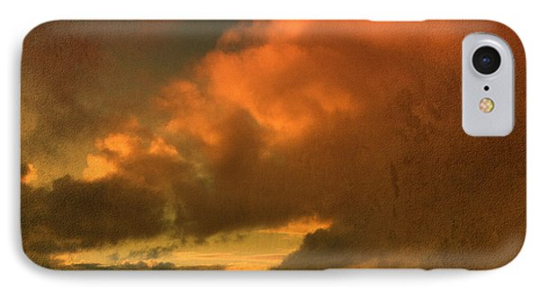 IPhone Case featuring the photograph Snow And Fire by Liz  Alderdice