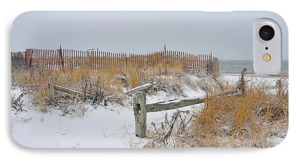 Snow And Sand Phone Case by Catherine Reusch Daley