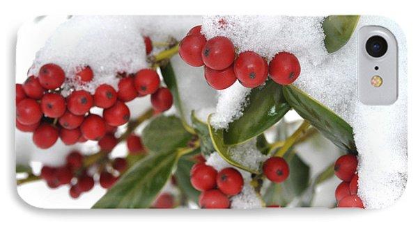 Snow Berries IPhone Case