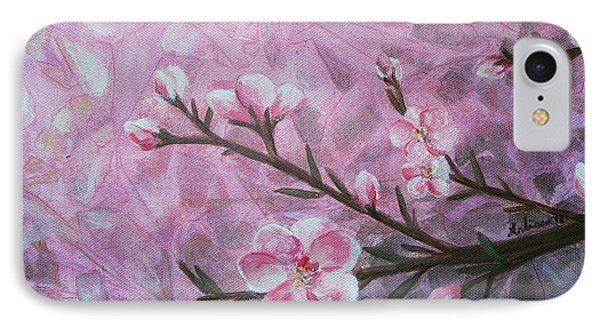 Snow Blossom Phone Case by Arlissa Vaughn