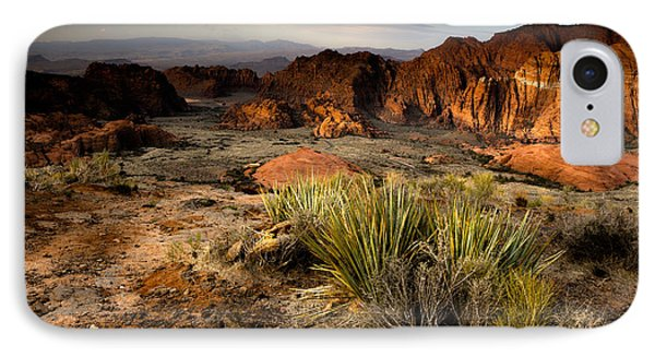 Snow Canyon Sunrise IPhone Case by Eric Foltz