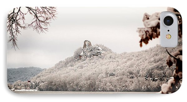 Snow Covered Sugarloaf IPhone Case by Al  Mueller