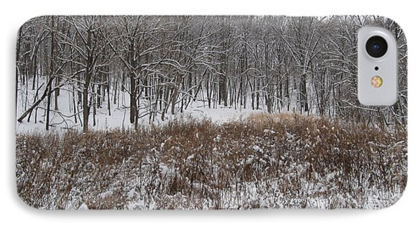 Snow Covered Woodland IPhone Case