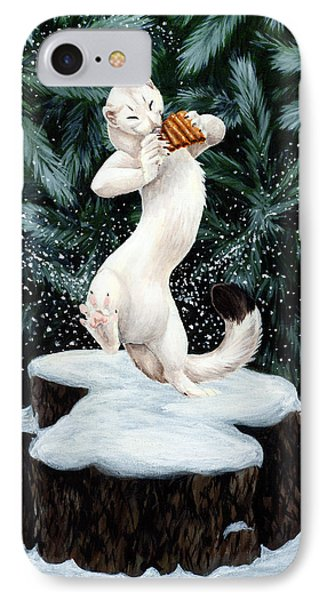Snow Dance Phone Case by Beth Davies