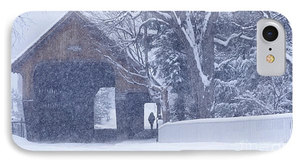 Snow Day IPhone Case by Alan L Graham