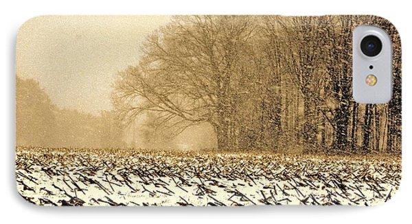 Snow Day IPhone Case by Steve Godleski