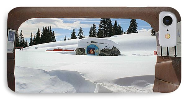 IPhone Case featuring the photograph Snow Daze by Fiona Kennard