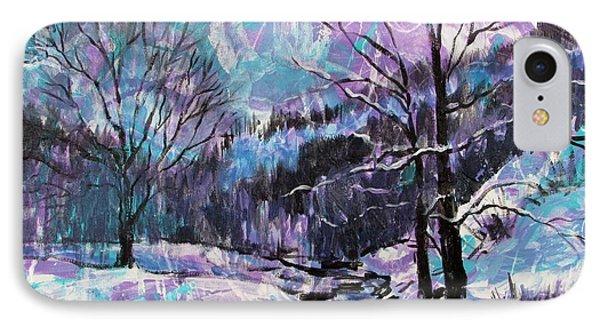 Snow Effect IPhone Case by Bonnie Mason