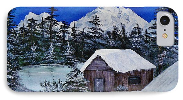 Snow Falling On Cedars IPhone Case