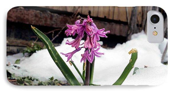 Snow Flower Phone Case by Fiona Kennard