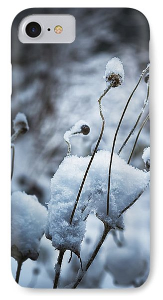 Snow Forms Phone Case by Belinda Greb