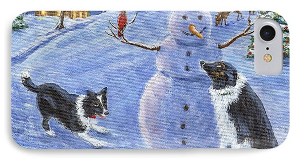 Snow Friends IPhone Case by Fran Brooks