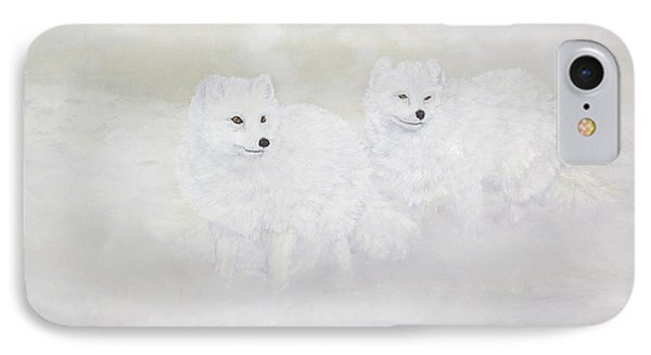 Snow Ghosts Of The North Phone Case by Johanna Lerwick