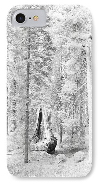 Snow Impressions Phone Case by Angela Stanton