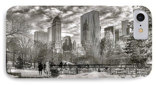 Snow In N.y. IPhone Case