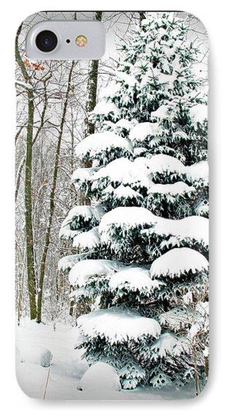 Snow In Ohio Phone Case by Joan  Minchak