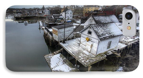 Snow In The South End Phone Case by Eric Gendron